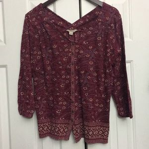 🎃2/$29 Lucky Brand L top